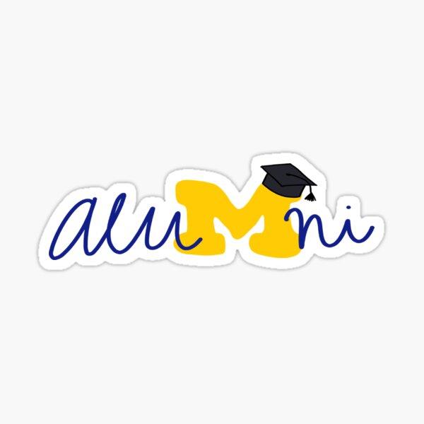 umich alumni Sticker