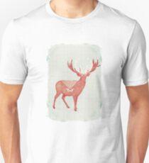 Christmas Stag Unisex T-Shirt