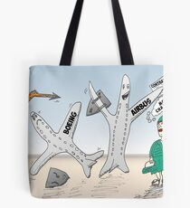 Airbus champion de Cathay Pacific Tote Bag