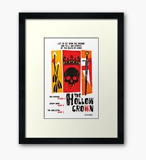 The Hollow Crown (Color Variant 2) Framed Print