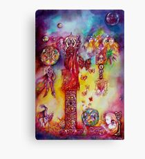 GARDEN OF THE LOST SHADOWS ,FAIRIES AND BUTTERFLIES Canvas Print
