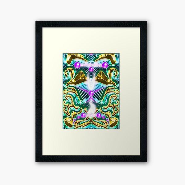 Metallic Dimension Framed Art Print