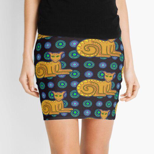 The Grinning Kitty Mini Skirt
