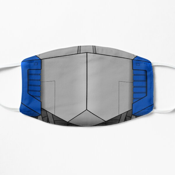 Busto Optimus Prime Mascarilla plana