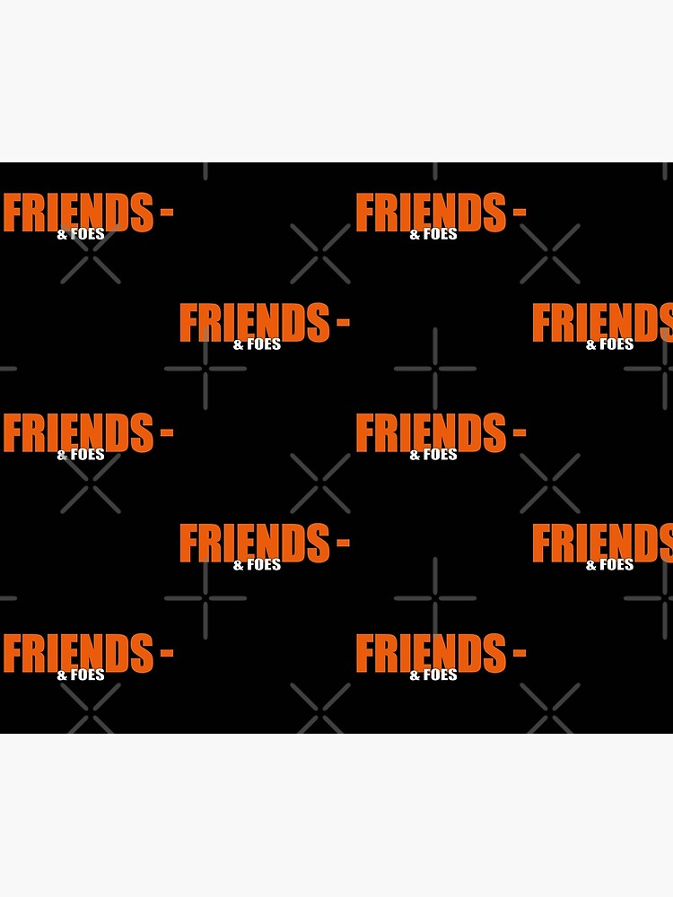 Vlone Friends & amp; Foes Logo Mask - Awge - streetwear by streetculte