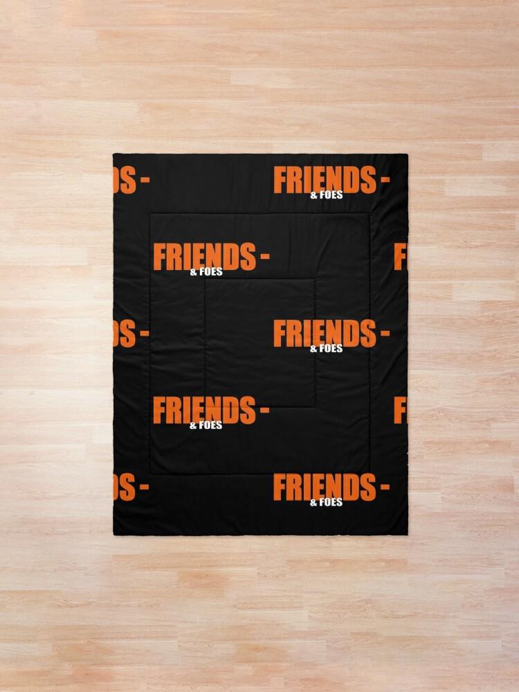 Alternate view of Vlone Friends & amp; Foes Logo Mask - Awge - streetwear Comforter