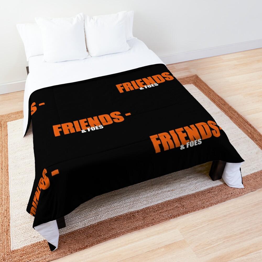Vlone Friends & amp; Foes Logo Mask - Awge - streetwear Comforter