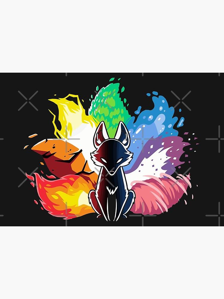 Kitsune Nine Tail fox by animebrands
