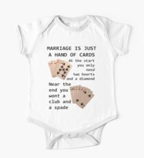 Hearts, Diamonds, Spades and Clubs One Piece - Short Sleeve