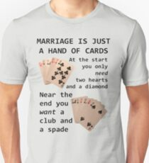 Hearts, Diamonds, Spades and Clubs Unisex T-Shirt
