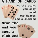 Hearts, Diamonds, Spades and Clubs by taiche