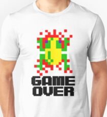 Unisex Frogger Game Over T-shirt - S to 3XL