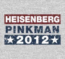 Breaking Bad - Heisenberg Pinkman 2012 Election Shirt
