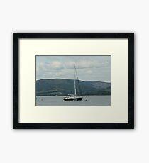 Bon Voyage Set Sail Framed Print