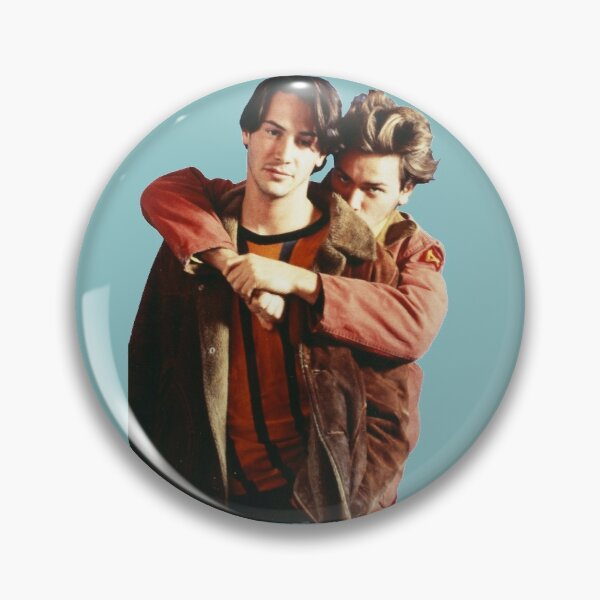 My Own Private River Reeves Pin