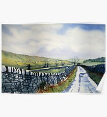 Walk in the Dales with Nicky Poster
