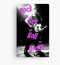 Rock Sex Canvas Print