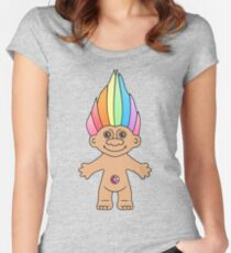Troll Magic Women's Fitted Scoop T-Shirt