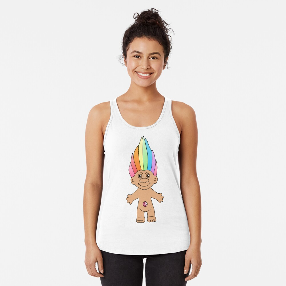 Troll Magic Racerback Tank Top