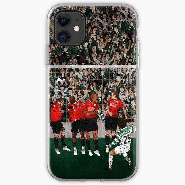 Shunsuke Nakamura vs Manchester United  iPhone Soft Case