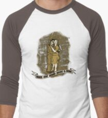 From Out Life's Muck & Mire Men's Baseball ¾ T-Shirt