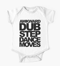 Awkward Dubstep Dance Moves (black) One Piece - Short Sleeve
