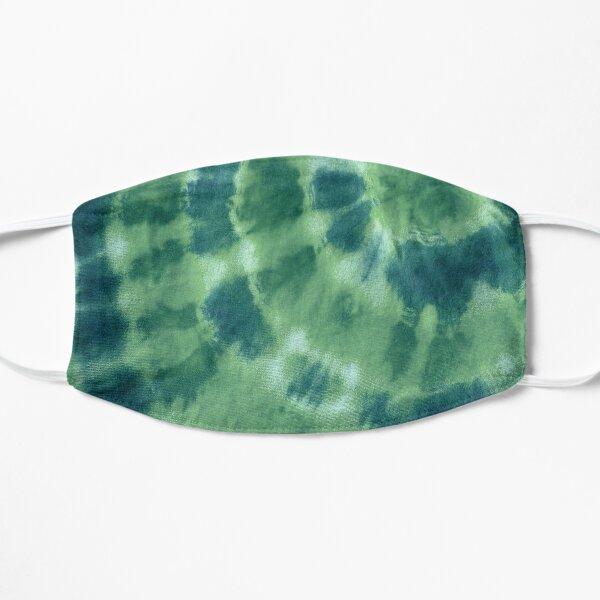 Vert sur teinture verte Masque sans plis