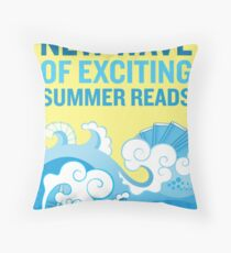 Check Out Our New Wave of Exciting Summer Reads Throw Pillow