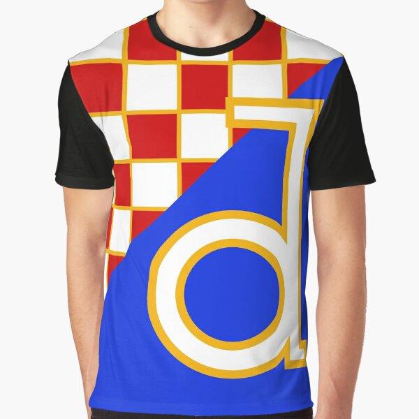 Dinamo Super Größe Grafik T-Shirt
