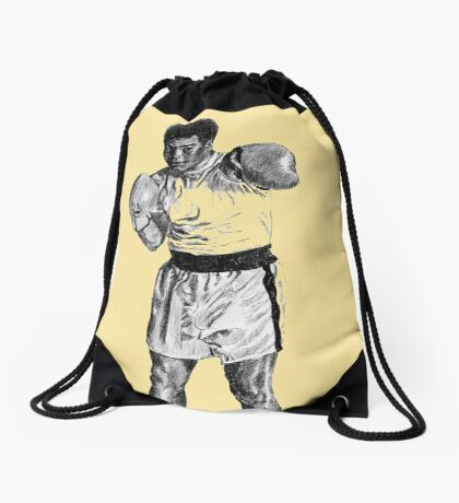 Boxing Champ M. Ali. Rumble in the Jungle Drawstring Bag
