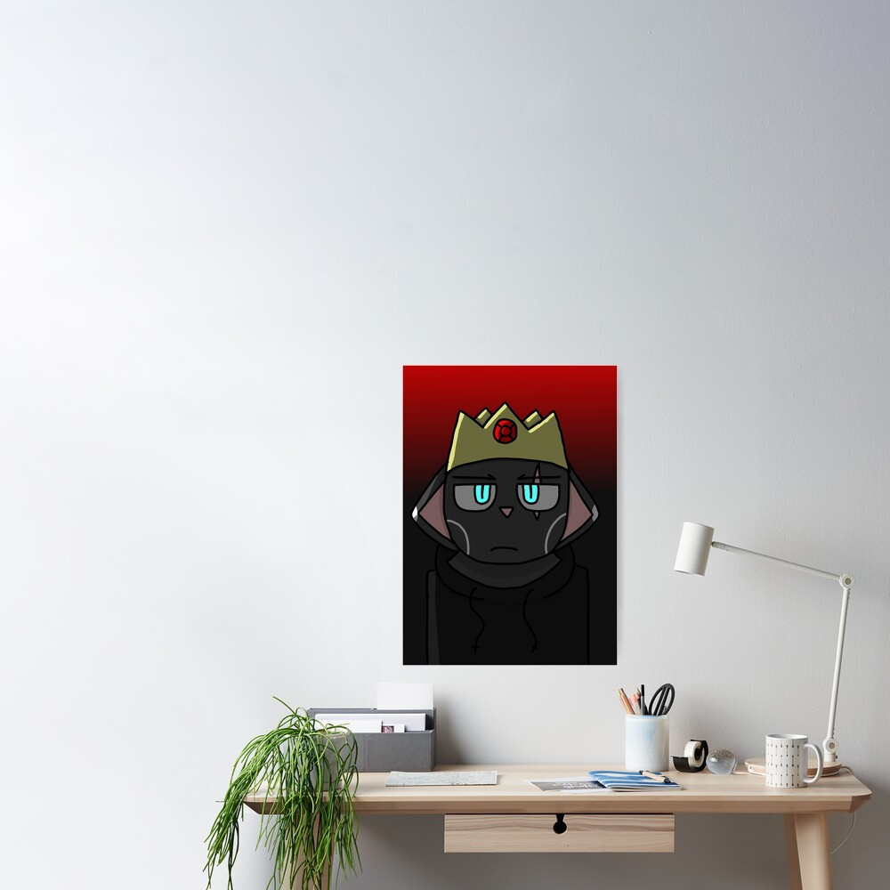 Crow's Shadow Crow Crown Poster