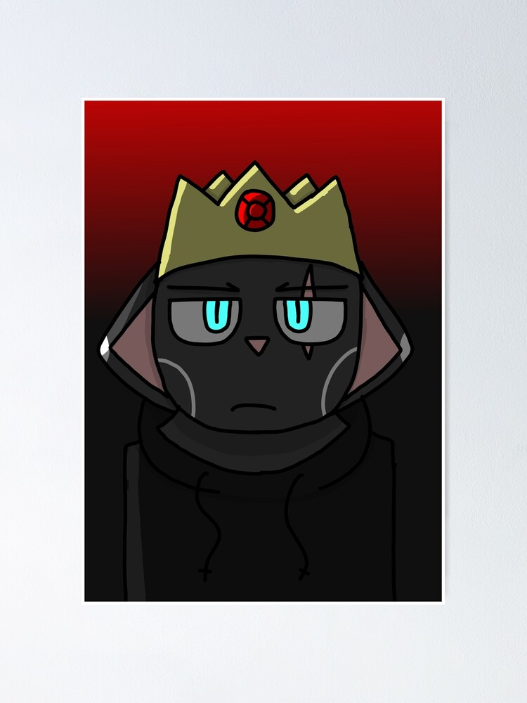Alternate view of Crow's Shadow Crow Crown Poster