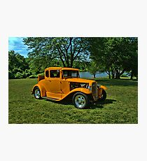 1931 Ford 5 Window Coupe Hot Rod Photographic Print