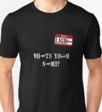Death Note Name Tag Unisex T-Shirt