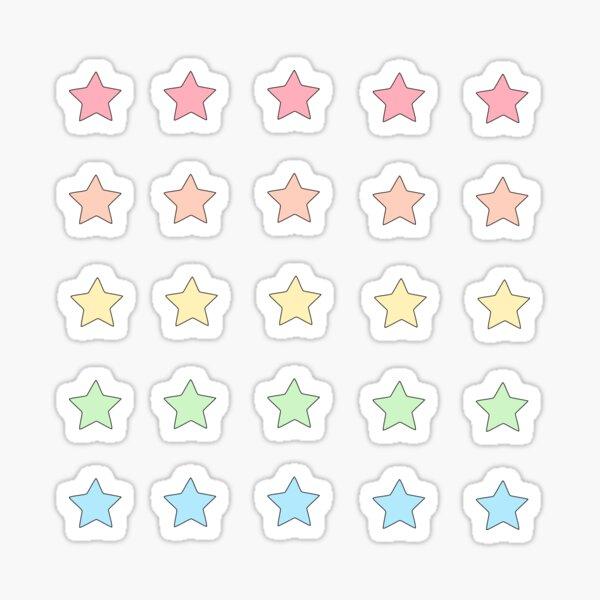Mini Star Sticker Set - Sticker Pack Sticker