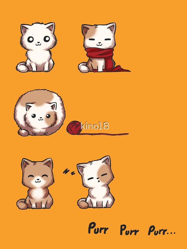 Soft Kitty by kino18