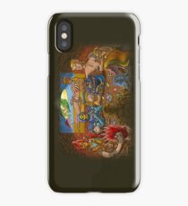 Toys Playing Uno iPhone Case/Skin