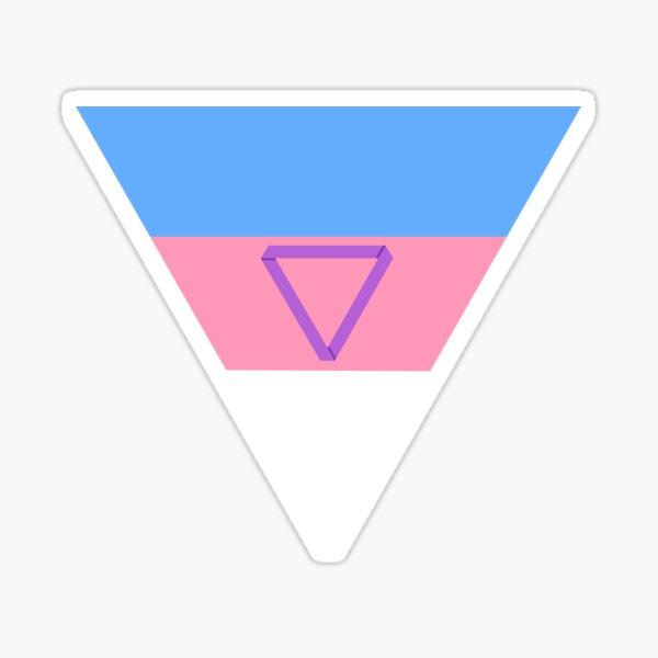 Non-Monogamous Pride Triangle Sticker