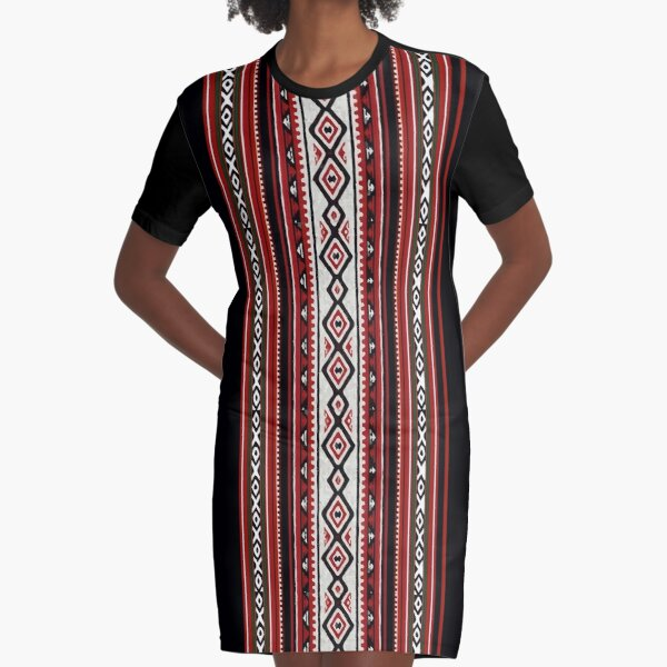 Traditional Arabian ornament Graphic T-Shirt Dress