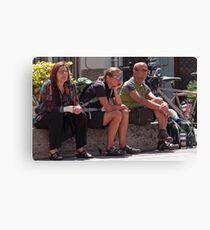 Waiting for the Giro Canvas Print