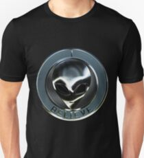Metal Alien Head 05 Unisex T-Shirt
