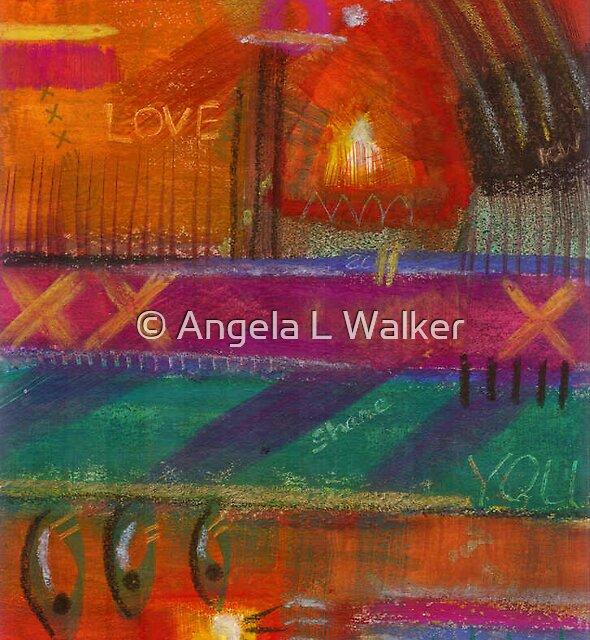 Being in LOVE by © Angela L Walker