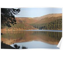 Ladybower Reservoir,Derwent Valley, Derbyshire Poster