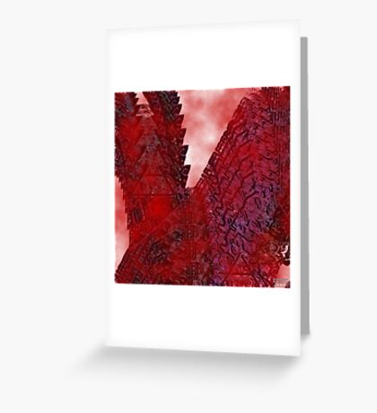 Red wings Greeting Card