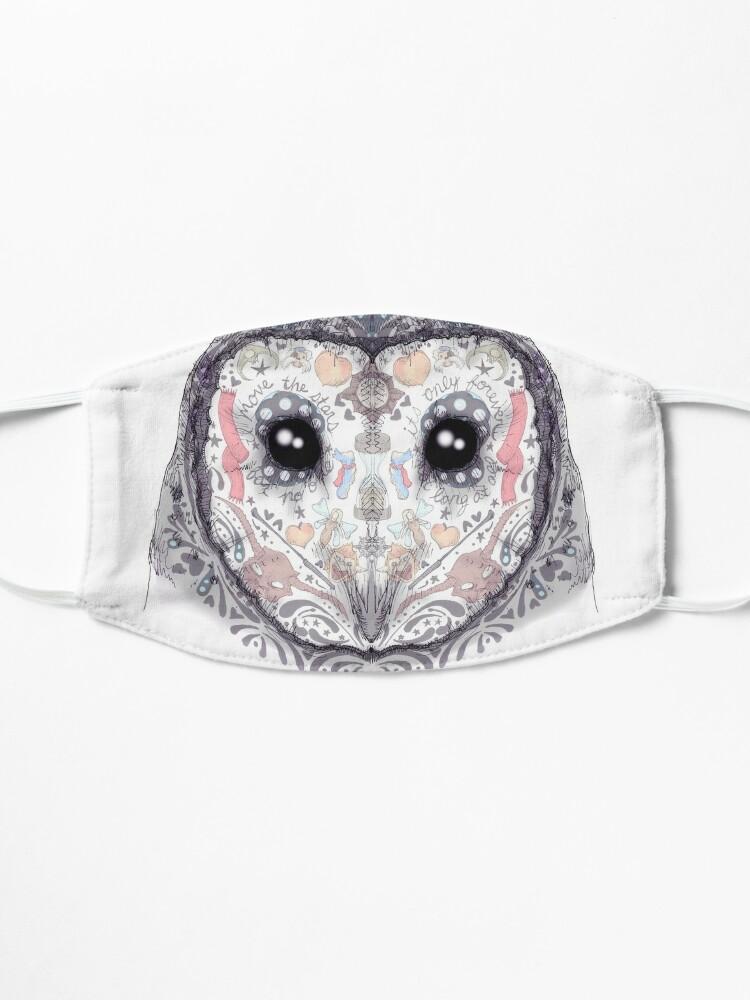 Alternate view of Sugar Skull Labyrinth Owl Mask