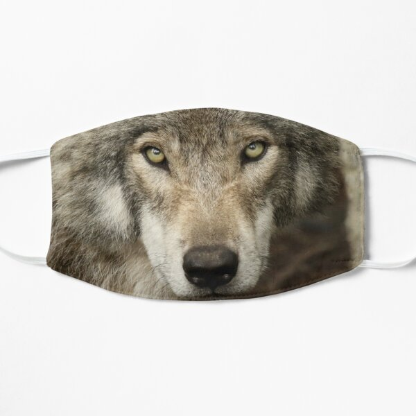 The intensity of the timber wolf Mask