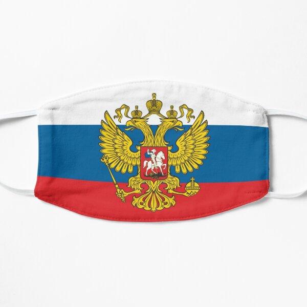 Russian Eagle Flag Flat Mask
