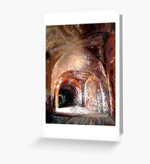 Aching Arches Greeting Card