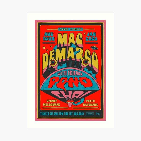 Mac DeMarco x Pond Chai Tour Art Print