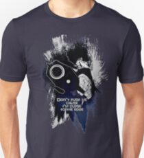 Spike - Don't push me... Unisex T-Shirt